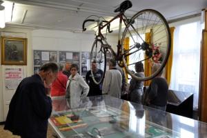 De thematentoonstelling gaat dit jaar over wielrennen