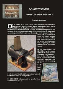 Knipsel schatten in ons museum 1