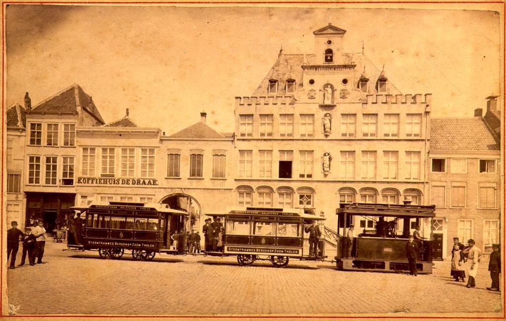 tram Bergen op Zoom Tholen a